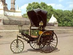 1888 Benz... The Benz Patent Motor Car is considered to be the world's first automobile.