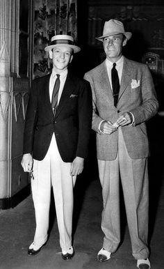 Fred Astaire and Randolph Scott 1936