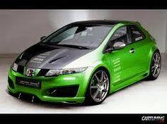 We love this green #Honda #Civic