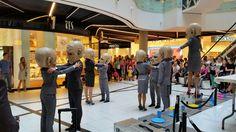 """Spektakl uliczny """"Peregrinus"""" w wykonaniu Teatru KTO. Przedstawienie odbyło się 11 czerwca w ramach 21. Międzynarodowego Festiwalu Sztuk Performatywnych A PART :)"""