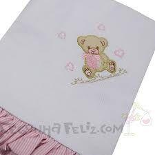 mantas de bebe bordadas - Pesquisa Google
