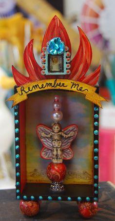 Small shrine for Dias de los Muertos by MJChadbourne/DesertDream Studios/All Rights Reserved/Copyright 2013