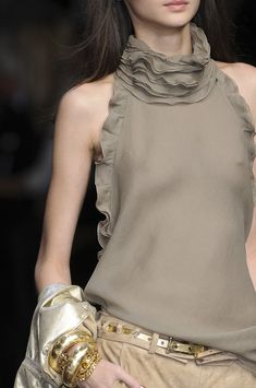 love the decorative element of this Ermanno Scervino piece