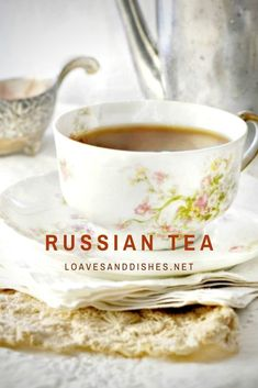 Hot, comforting, snuggly and perfect for a cool day! A Russian tea recipe guaranteed to lift your spirits and it is easy too! #russian #tea #russiantea