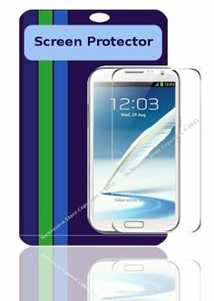 Screen Protector for Samsung Note2 N7100 N7200