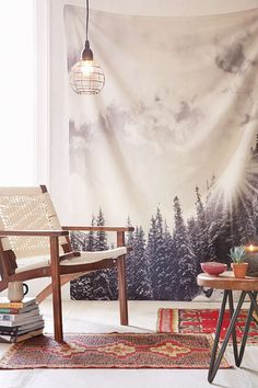 Bird Wanna Whistle For DENY White Mountain Tapestry - Urban Outfitters