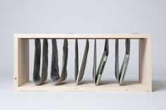 "Great, unusual look combining a bench and pockets - ""Storage Bench"" by Frederika Fačkovcová"