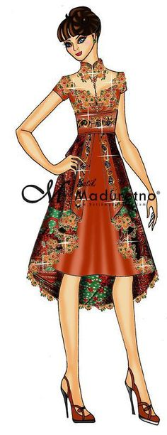 New Dress Brokat Modern Remaja 37 Ideas Kebaya Dress, Batik Kebaya, Dress Pesta, Trendy Dresses, Simple Dresses, Nice Dresses, Casual Dresses, Blouse Batik, Batik Dress