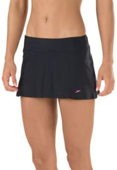 Swim in comfort and style wearing this skirted bottom. Constructed from a durable stretch fabric engineered to keep its shape and resist the effects of chemicals, the feminine silhouette has built-in briefs so you can head to the pool or beach with confidence. Swim Dress, Briefs, Short Skirts, Stretch Fabric, Cheer Skirts, Confidence, Gym Shorts Womens, Feminine, Swimming