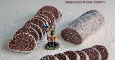 Ha valami édesre vágysz, akkor készíts gesztenyés keksz szalámit ! Amilyen gyorsan elkészül, olyan gyorsan el istűnik. ...