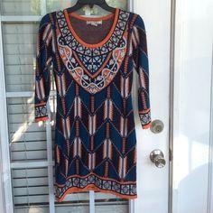 Aztec Dress Size medium. Worn once. Great condition!  Flying Tomato Dresses Midi