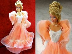1984 peaches and cream barbie.....