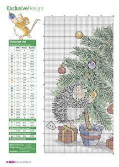 Cross stitch crazy 210 Xmas Cross Stitch, Cross Stitch Christmas Ornaments, Just Cross Stitch, Cross Stitch Books, Cross Stitch Animals, Christmas Cross, Cross Stitch Charts, Counted Cross Stitch Patterns, Cross Stitch Designs