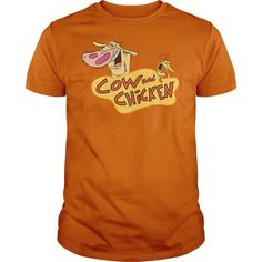 Cow And Chicken Logo T-Shirt Hoodie Sweatshirts aoo. Check price ==► http://graphictshirts.xyz/?p=67899