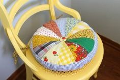 Fun Quilted Chair Cushion