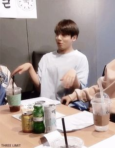 Jungkook and Namjoon Gif
