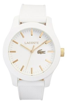 Ooohhh! Oh, oh, oh!!!! YES!!!!! -- Lacoste '12.12' Watch, 43mm available at #Nordstrom