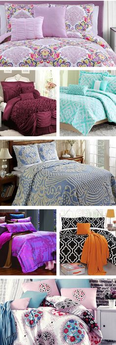 From a dark and dramatic boudoir to a bright and airy haven, a luxurious bed can match any decor style. Start with a high-quality down comforter or duvet fill - a baffle-box construction or gusset edges will maximize that bountiful, plush feel. Visit Wayfair and sign up today to get access to exclusive deals everyday up to 70% off. Free shipping on all orders over $49.