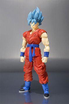 Hearty 17cm Dragon Ball Super Saiyan Blue Hair Son Goku Kaiouken Action Figure Toy Collection Movie Model Boy Gift Anime Electronic Pet Electronic Pets Electronic Toys