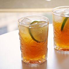 Tamarind Dark & Stormy (with tamarind drinking vinegar!) | PopSugar // Nicole Perry