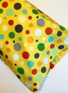 A personal favorite from my Etsy shop https://www.etsy.com/listing/400608157/dots-pillowcase-travel-pillowcase