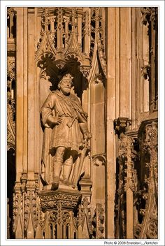 Photo: Travel: England: Winchester: Statue of King Canute the Great - this guy is my favourite