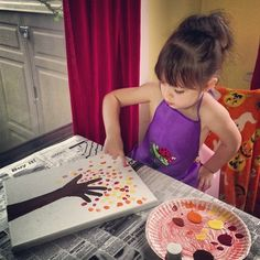 Trace their forearm & hand. Paint it. Fingerprints for leaves. They are going to love this! Neat project for craft time with kids Crafts To Do, Fall Crafts, Holiday Crafts, Crafts For Kids, Arts And Crafts, Diy Crafts, Craft Activities For Kids, Toddler Activities, Projects For Kids