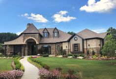 This 3 bedroom luxury house plan gives you all the conveniences of one-level living and the privacy you Luxury Floor Plans, Luxury House Plans, Best House Plans, Open Family Room, Family Room Design, Aspen House, House Plans 3 Bedroom, European House Plans, Monster House Plans