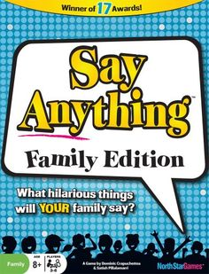 Amazon.com: Say Anything Family: Toys & Games