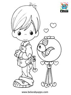 Happy children's day coloring pages - free printable ⋆ BelarabyApps Cute Coloring Pages, Christmas Coloring Pages, Coloring Pages To Print, Free Printable Coloring Pages, Adult Coloring Pages, Coloring Sheets, Coloring Pages For Kids, Coloring Books, Kids Coloring