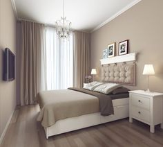 Home interior design modern bedroom interior design Bedroom Color Schemes, Bedroom Colors, Home Decor Bedroom, Bedroom Ideas, Bedroom Designs, Cottage Bedrooms, Bedroom Inspiration, Diy Bedroom, Bedroom Furniture