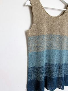Sweater tank- Perfect for the PNW