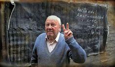 Este es mi viejo, hoy cumple 80 años, y por la vida. Amor, honestidad y arte…