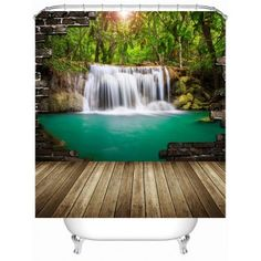 SHARE & Get it FREE | Nature Landscape Shower Curtain with HooksFor Fashion Lovers only:80,000+ Items·FREE SHIPPING Join Dresslily: Get YOUR $50 NOW!