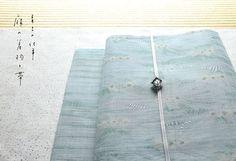 青土(あおに)の仕事 麻の着物と帯