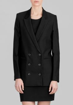 And Other Stories   Double Breasted Blazer   Black