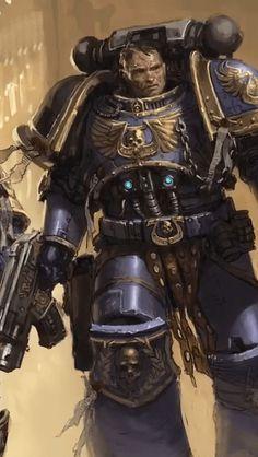 Warhammer 40K Adeptus Astartes