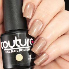 "#69 ""Gilded"" #gelnailpolish  #mani #manicure #soakoff #soakoffgel #golden #gilded"