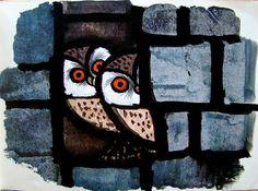 Happy Owls by Celestino Piatti 1963. art.crazed, via Flickr