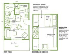 Small cabin floor plans with loft 135 - pictures, photos, images
