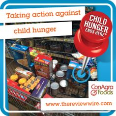 Join Me to Fight Child Hunger in America #FightHungerTogether #ad