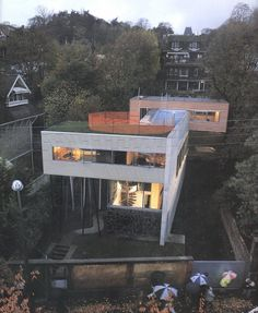 Villa dall'Ava, Saint-Cloud, Paris, France by Rem Koolhaas