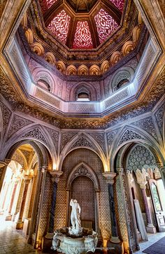 Monserrate Palace, Sintra, Portugal by Fragga via Flickr