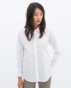 Camisa clásica blanca - básico