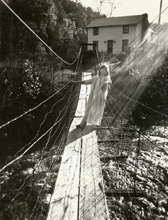 Sally Mann-- Less dark than a lot of her stuff yet has that same mystical, siren from the sea, quality.