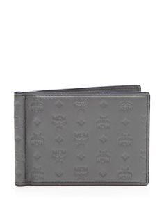 Mcm Sigmund Money Clip Wallet