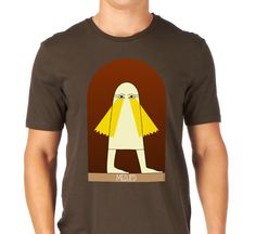 Medjed is one of the many obscure Gods in the Egyptian Book of Dead. After the exhibition of a papyrus with its image in Tokio, it began appearing in Japanese popular culture, including as an Internet meme. Yours at http://www.redbubble.com/people/tudi/works/16067169-medjed