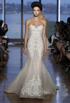 35 Best Statement Back Wedding Gowns of 2014 | OneWed