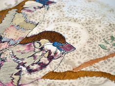 Rosemary Milner: Embroidery that looks like a sketch!