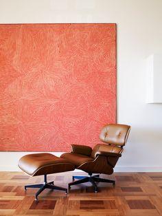 Classic Eames Lounge Chair & Ottoman.